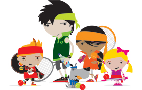 Mini Tennis gang